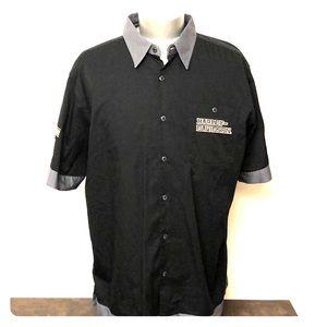 Harley Davidson men's XL button down shirt